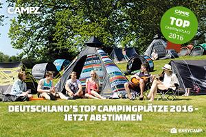 Die besten deutschen Campingplätze 2016